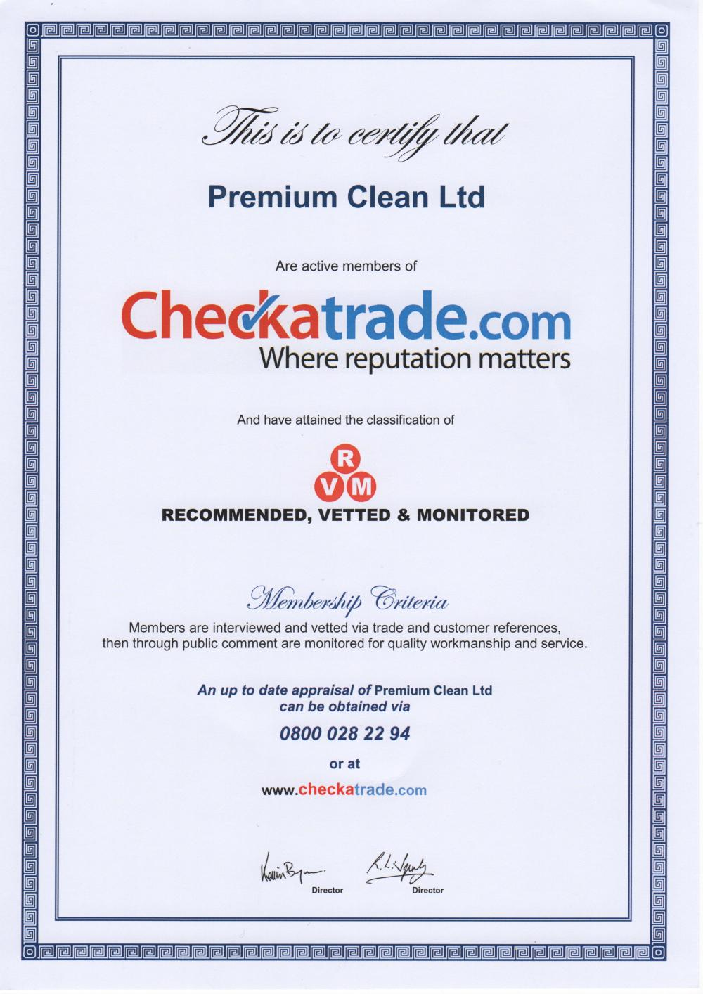 Cleaning by Premium Clean Ltd
