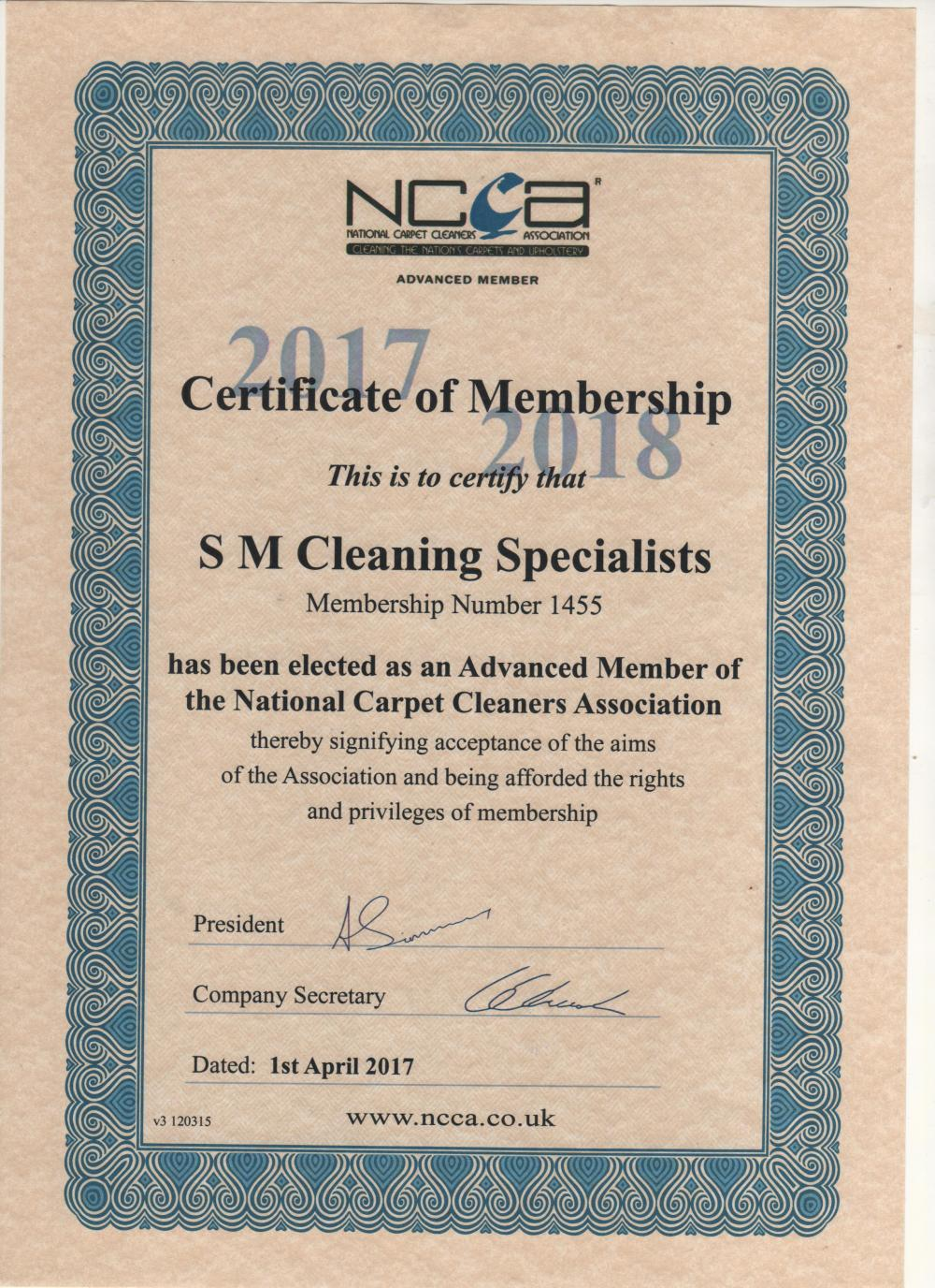 Cleaning by SM Cleaning Specialists