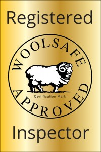 Registered WoolSafe Approved Inspector