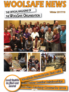 Read WoolSafe News Magazine Winter 2017-18