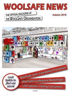 Read WoolSafe News Magazine Autumn 2018