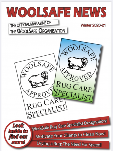Read WoolSafe News Magazine Winter 2020-21